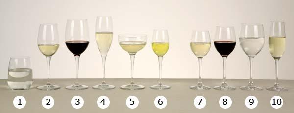B2 2 6 bicchieri - Disposizione bicchieri in tavola ...
