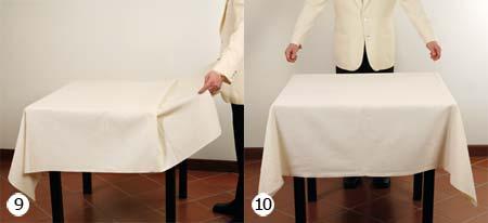 B4 1 1 stendere la tovaglia - Mollettone per stirare sul tavolo ...