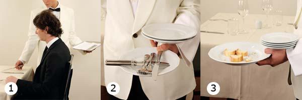 Come Portare I Piatti Cameriere.B4 6 2 Come Si Esegue Lo Sbarazzo Salabar It