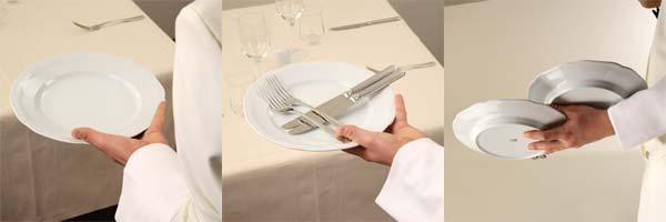 Come sparecchiare cameriere